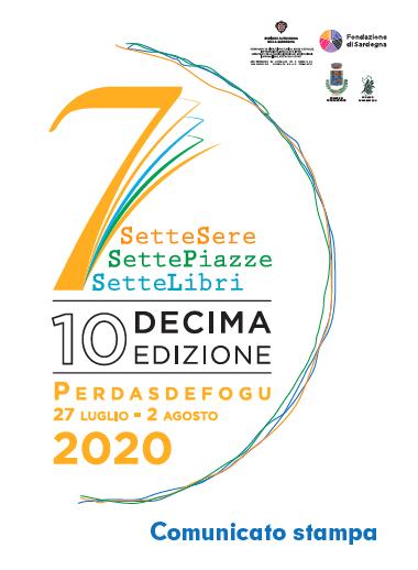 comunicato stampa edizione 2020